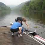 Single scull beginner